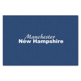 Manchester, New Hampshire Tissue Paper
