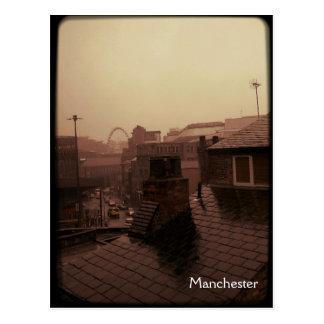Manchester - Rainy City Postcard