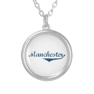 Manchester Silver Plated Necklace