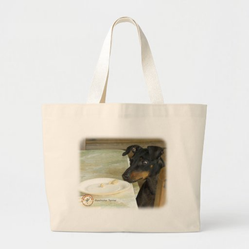 Manchester Terrier 8W07D-10 Tote Bags