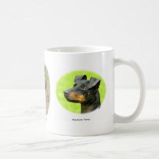 Manchester Terrier Basic White Mug