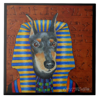 Manchester Terrier Ceramic Tile