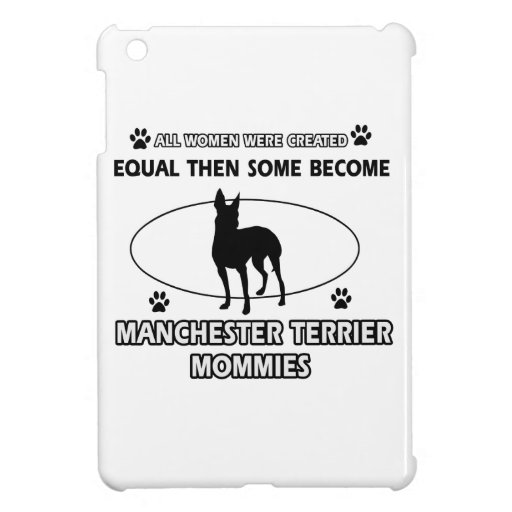 manchester terrier mommy designs iPad mini cases