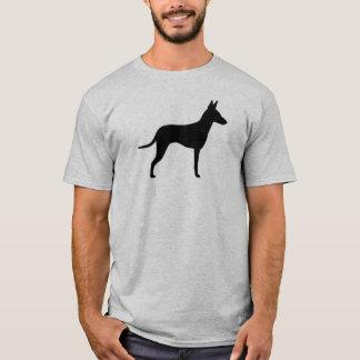 Manchester Terrier Silhouette T-Shirt