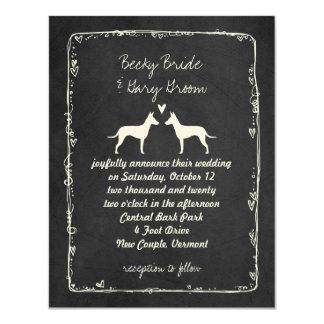 Manchester Terriers Wedding Announcement