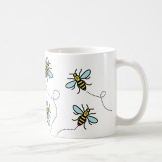 Manchester Worker Bee Classic White Mug