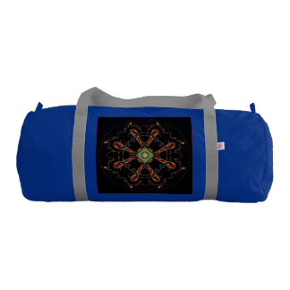 Mandala - 0013 - The Raven and the Sea and Stars P Gym Bag