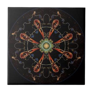 Mandala - 0013 - The Raven and the Sea and Stars P Tile