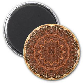 Mandala 103 Fridge Magnet 2 Inch Round Magnet