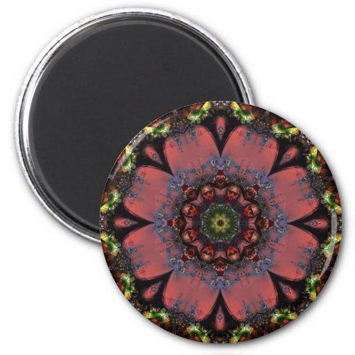 Mandala 203 Fridge Magnet