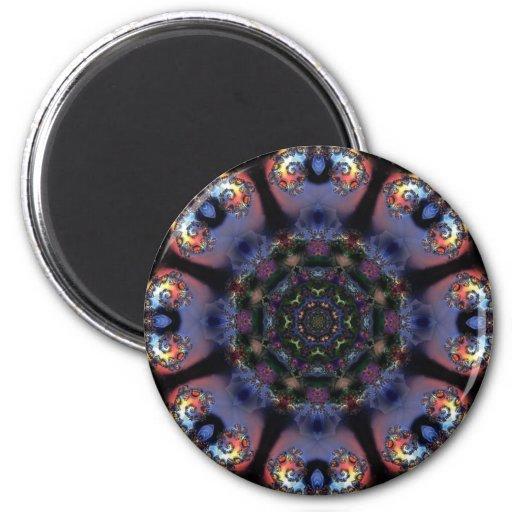 Mandala 204 Fridge Magnet