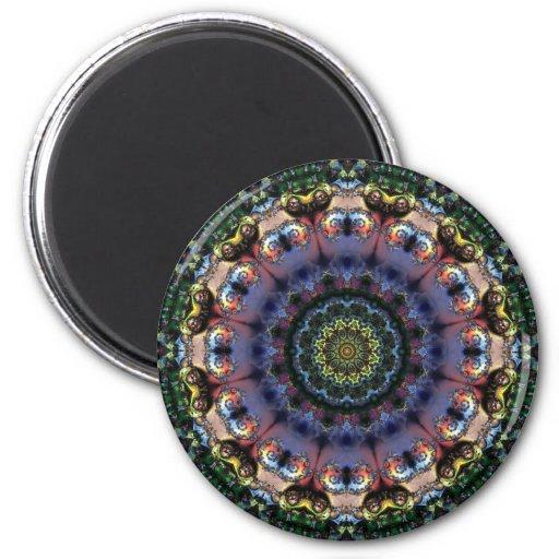 Mandala 206 Fridge Magnet