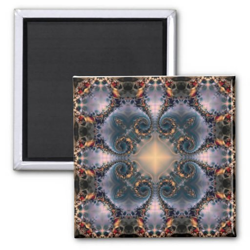 Mandala 210 Fridge Magnet