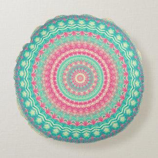 Mandala 56 round cushion
