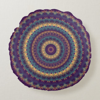 Mandala 70 round cushion