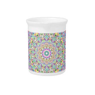 Mandala 7 Color Version Z Pitcher