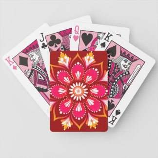 Mandala Abstract Art Playing Cards