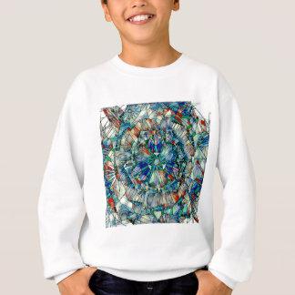 mandala action sweatshirt