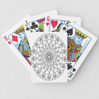 mandala,adult colouring,mandala madness,black bicycle playing cards