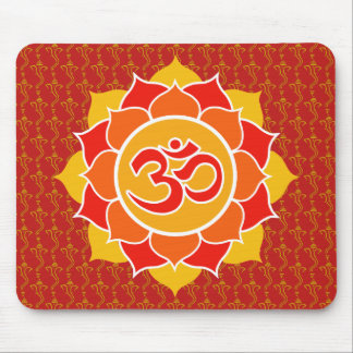 Mandala and Sri Ganesha Together Mouse Pad