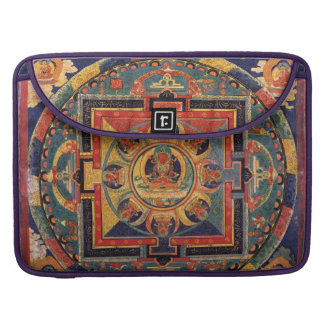 Mandala Antique Tibetan Buddha Sleeve For MacBook Pro