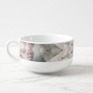 Mandala Beach Soup Mug