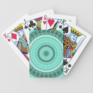 Mandala Bicycle Playing Cards