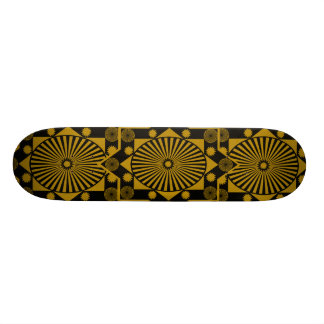 MANDALA BLACK TAN, MANDALA BLACK TAN, MANDALA B... SKATE BOARDS