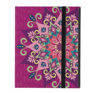 Mandala Bloom iPad Folio Case