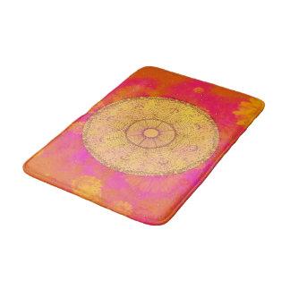 MANDALA ~ Blossoming Summer - Bath Mat