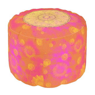 MANDALA ~ Blossoming Summer - Pouf