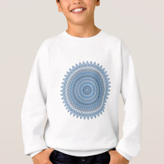 Mandala blue sweatshirt