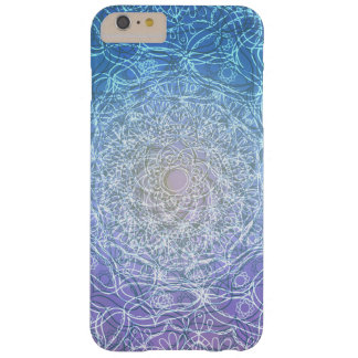 Mandala Blue Violet Reflection Barely There iPhone 6 Plus Case