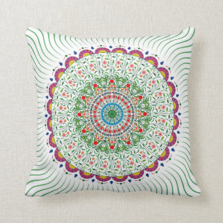 MANDALA BOHEMIAN PRINT, Multicolor Cushion