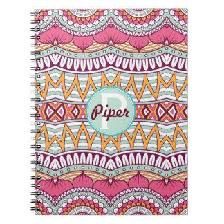 Mandala Boho Multi-Colored Pattern   Notebook