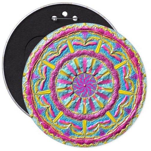 """Mandala button """"ring OF Phoenix """""""