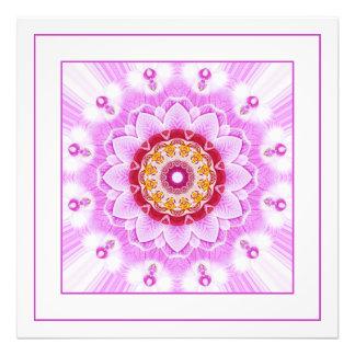 Mandala (C) from Radiant Orchid Closeup Photo Photo Print