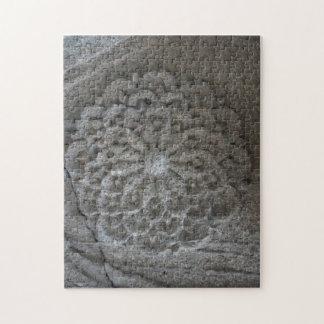 Mandala Carved Stone  Photo Puzzle with Gift Box