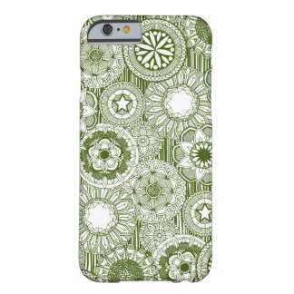 mandala cirque green white barely there iPhone 6 case