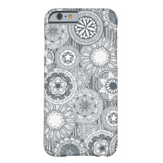 mandala cirque metal white barely there iPhone 6 case