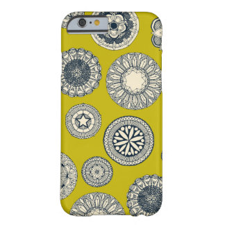 mandala cirque spot chartreuse barely there iPhone 6 case