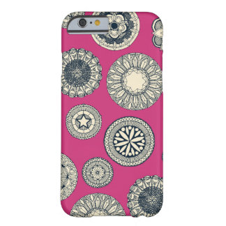 mandala cirque spot pink barely there iPhone 6 case