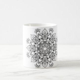 Mandala Classic White Mug