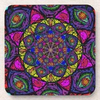 Mandala Coaster Set of 6