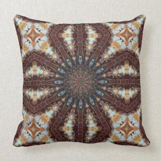 Mandala - Colors of Rust / ROSTart Cushion