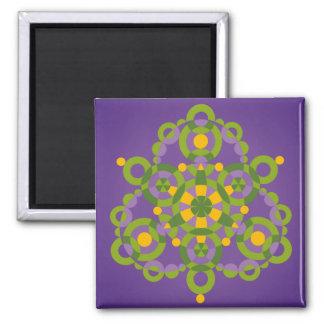 Mandala Conception Fridge Magnets