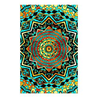 Mandala Custom Stationery