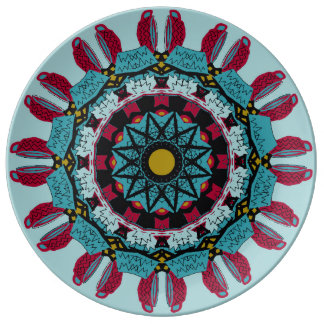 Mandala Decorative Porcelain Plate