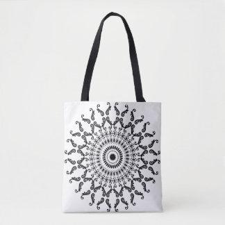 Mandala Design Tote Bag