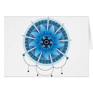 Mandala Dream Catcher 2 Card